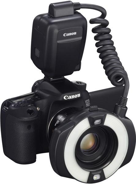 Продажи вспышки для макросъемки Canon MR 14EX II начнутся в мае