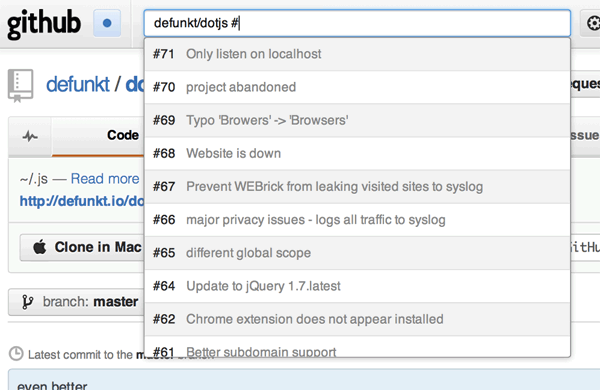 Командный интерфейс для веб сайта