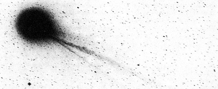 Комета Галлея? Она улетела, но обещала вернуться…