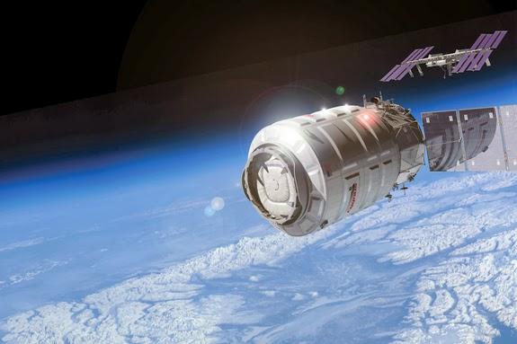 Коммерческий грузовой космический корабль Сygnus успешно отстыковался от МКС