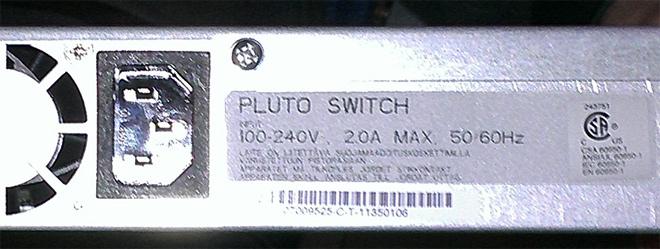 Коммутатор Google Pluto