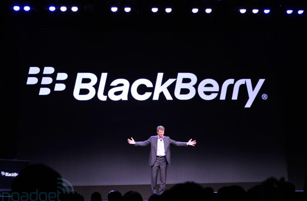 Компания Research In Motion переименована в BlackBerry
