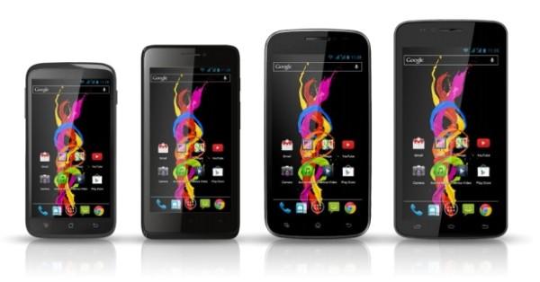 Компания Archos представила четыре смартфона Archos Titanium