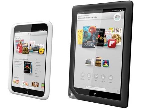 Цены на планшеты Nook HD и Nook HD+ снизятся на $50 и $90