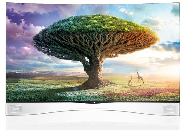 Компания LG в США снизила цену на телевизор LG Curved OLED (55EA9800) с вогнутым экраном