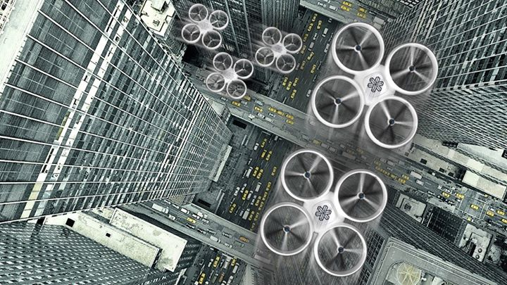 Компания Matternet хочет создать транспортную сеть будущего