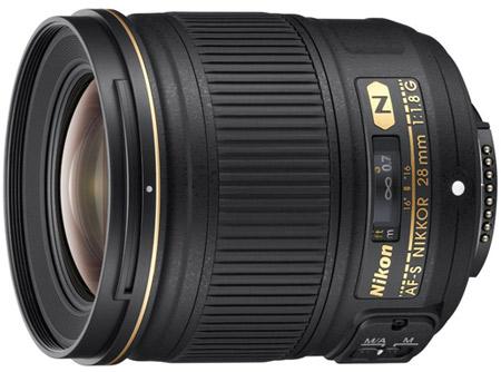 Компания Nikon представила объектив AF-S NIKKOR 28mm f/1.8G для полнокадровых зеркальных камер