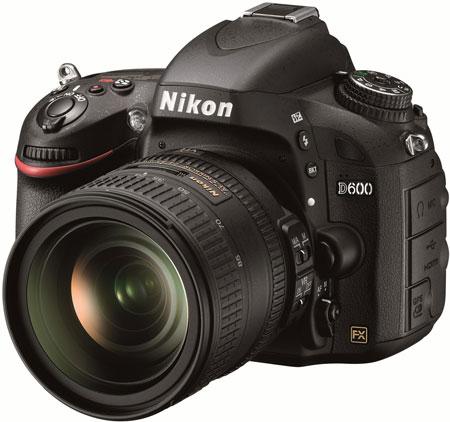 Представлена полнокадровая зеркальная камера Nikon D600