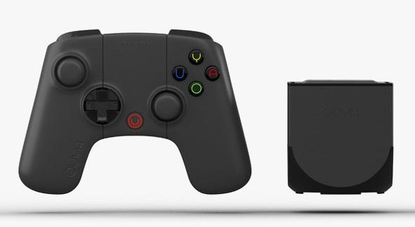 Компания Ouya представила одноимённую обновлённую игровую приставку чёрного цвета с 16 ГБ встроенной флэш-памяти
