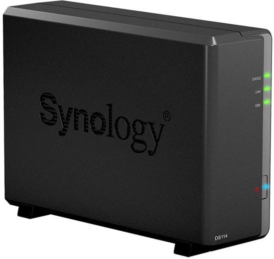 NAS Synology DiskStation DS114 и DS414 предназначены для малого и среднего бизнеса