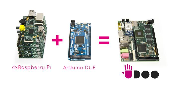 Компания UDOO запустила кампанию на Kickstarter.com.Убийца Raspberry Pi