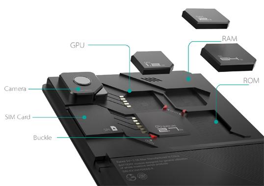 Компания ZTE представила свой модульный смартфон ECO MOBIUS