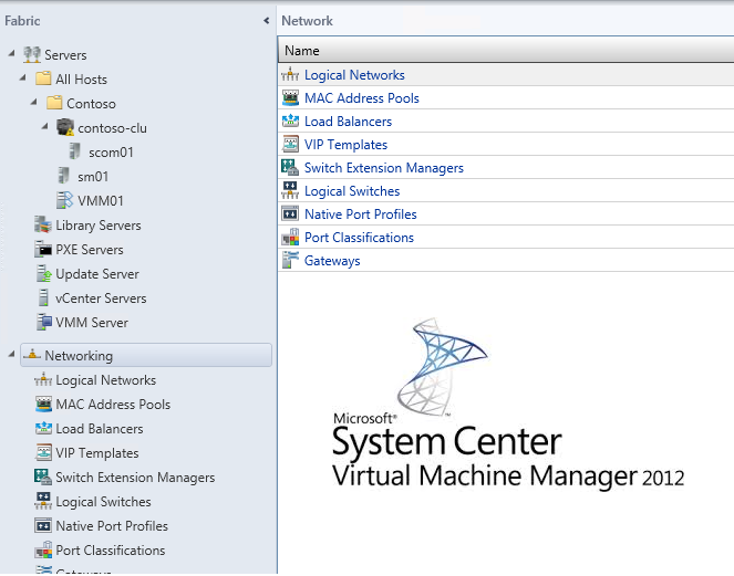 Концепция виртуализации сети на базе Windows Server 2012 и System Center 2012 SP1