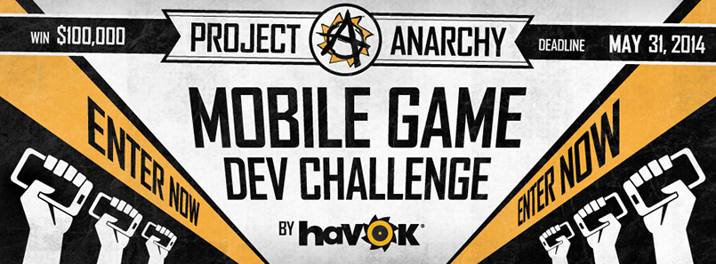 Конкурс Project Anarchy Mobile Game Dev Challenge