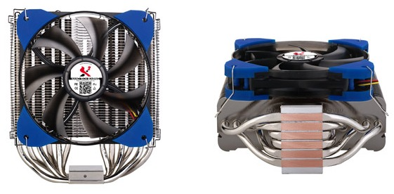 Тепловые трубки Spire X2.9883 рассчитаны на непосредственный контакт с процессором