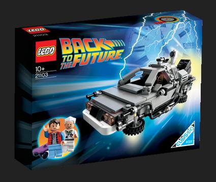 Конструктор Lego.cuusoo «Назад в будущее» в продаже с 1 августа