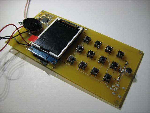 Конструктор для сборки сотового телефона