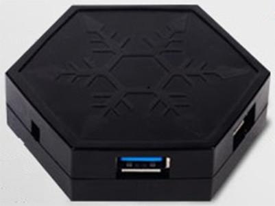 Встроенный магнит способен удержать концентратор USB 3.0 SilverStone EP01 на стальной стенке корпуса