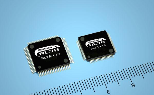 Контроллеры Renesas Electronics RL78/L13 поддерживают рекордно большое число сегментов ЖК-дисплеев