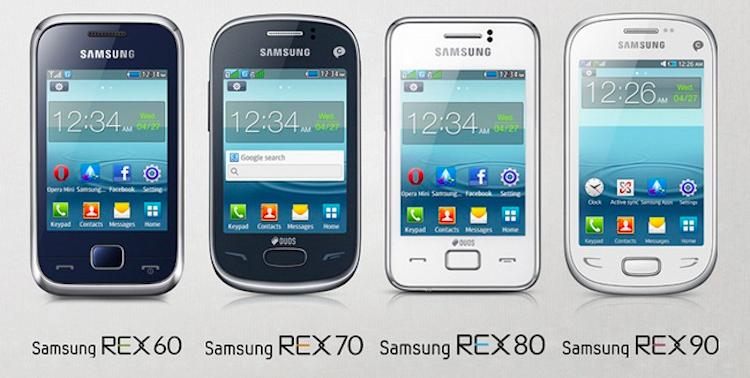 Коротко о новом: Samsung запускает бюджетные сенсорные телефоны серии REX
