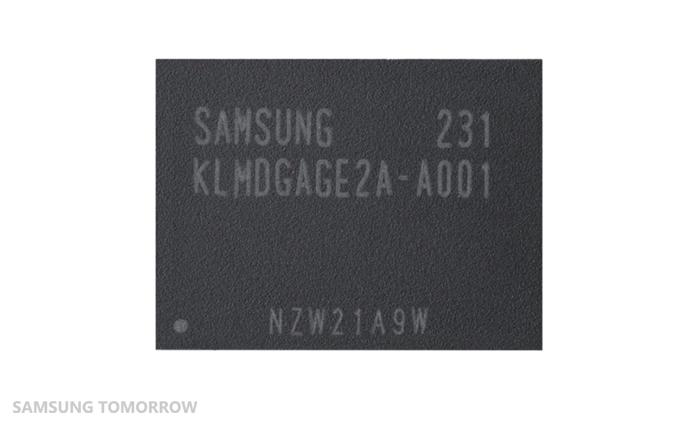 Коротко о новом: Samsung запускает в массовое производство EMMC карты памяти объемом 128 ГБ