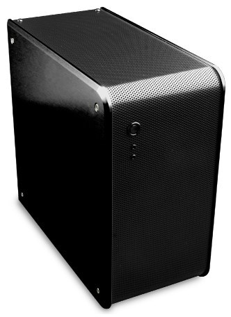 Корпус для ПК Abee acubic E40 рассчитан на платы типоразмера mini-ITX