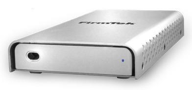 Корпус для внешнего накопителя FirmTek miniSwap/U3 рассчитан на одно устройство типоразмера 2,5 дюйма