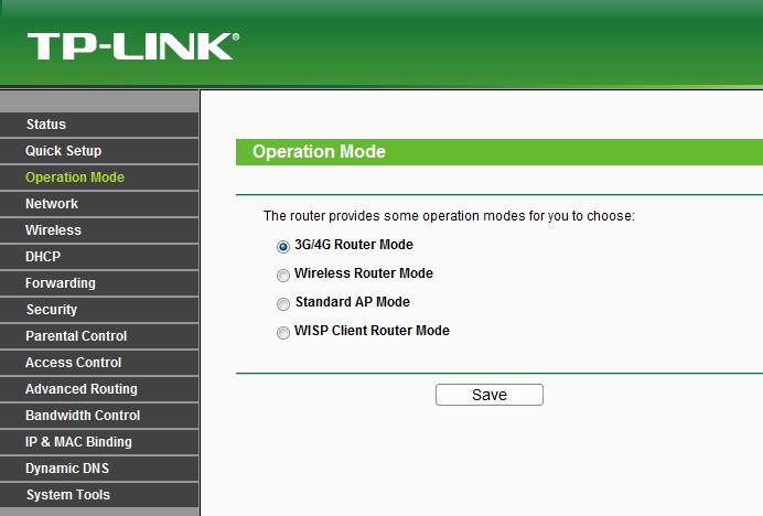 Краткий обзор мобильного роутера TP Link MR3040