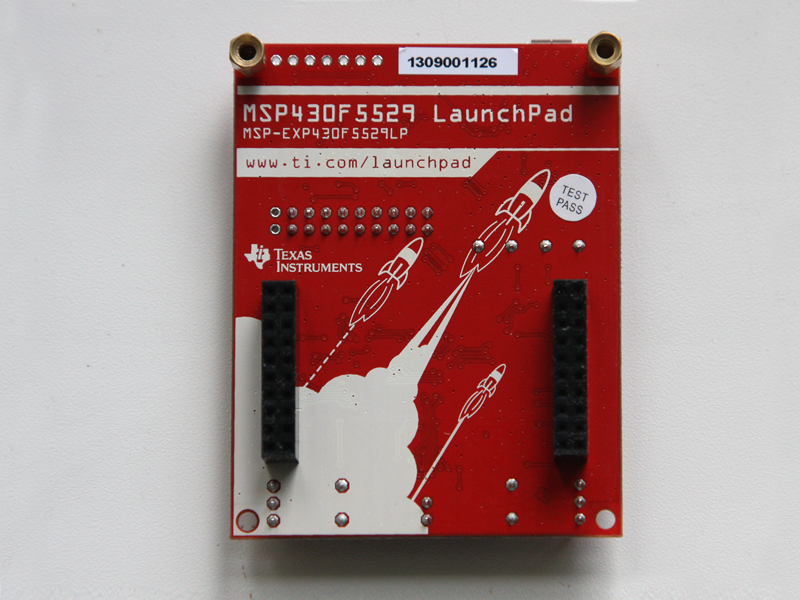 Краткий обзор нового TI Launchpad (MSP EXP430F5529LP или MSP430F5529 USB LaunchPad)