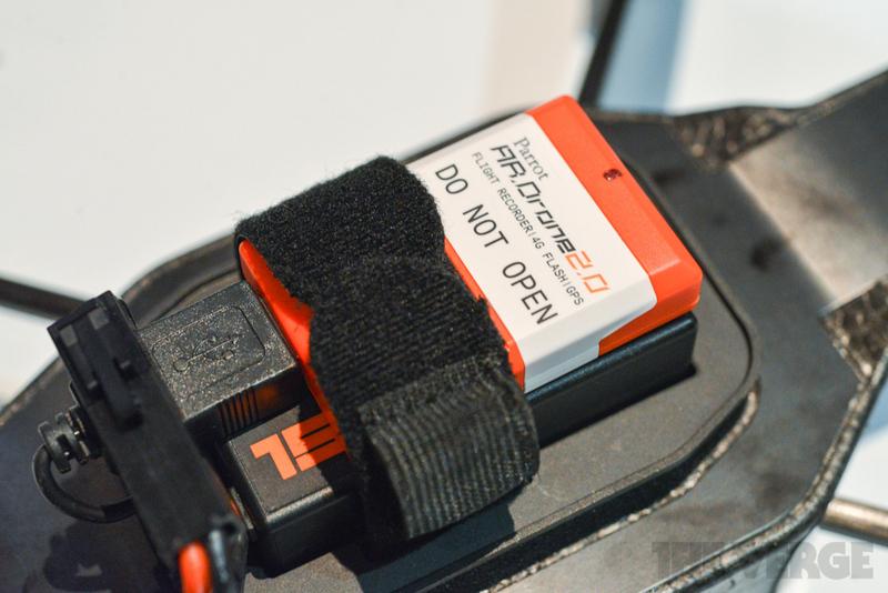 Квадрокоптер AR.Drone — анонсирован штатный GPS приемник. Наконец то!