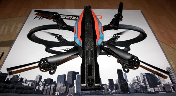 Квадрокоптер дополненной реальности — обзор AR.Drone 2.0