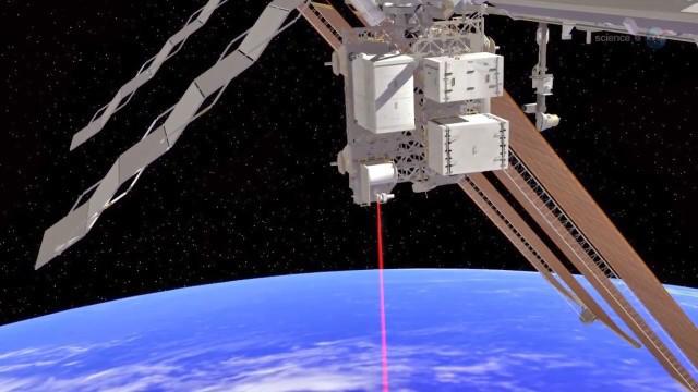 Лазерное послание из космоса