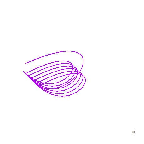 Лиловые закорючки