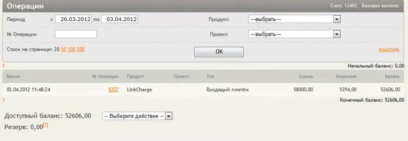 linkCharge.Offline: способ оплаты продуктов и услуг для оффлайновых покупателей