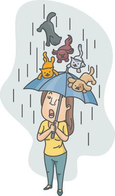 Литдетектив: «дождливые» идиомы в английском