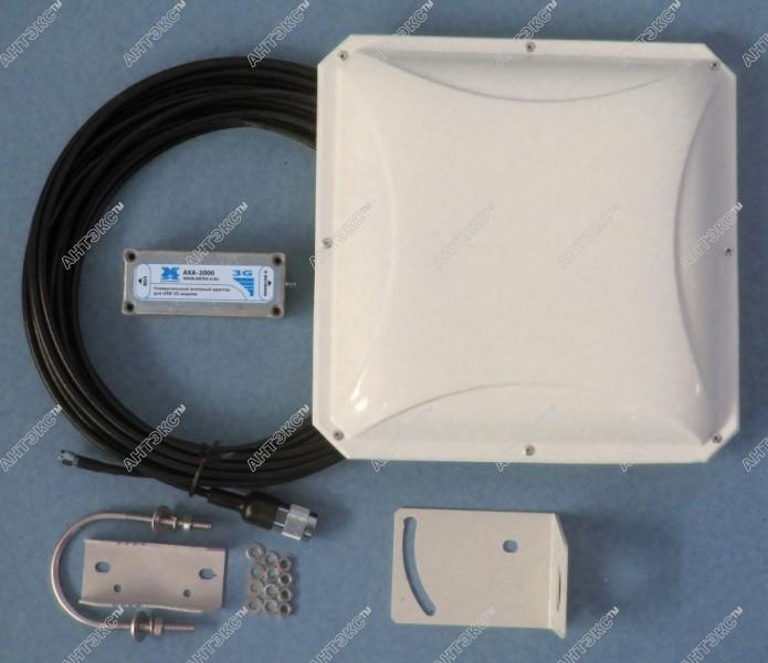 Ловля интернетов в глухой деревне с помощью 3G антенны
