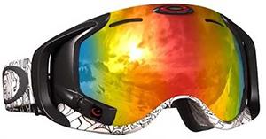 Лыжная маска со встроенным компьютером