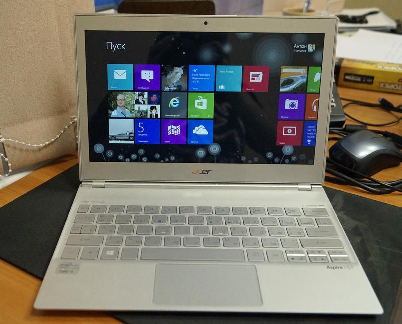 Маленький, алюминиевый и сенсорный. Обзор Acer Aspire S7 11 дюймов