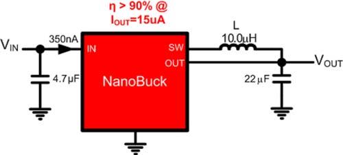 Маломощный преобразователь напряжения TI TPS62736 поможет устройствам брать питание «из воздуха»