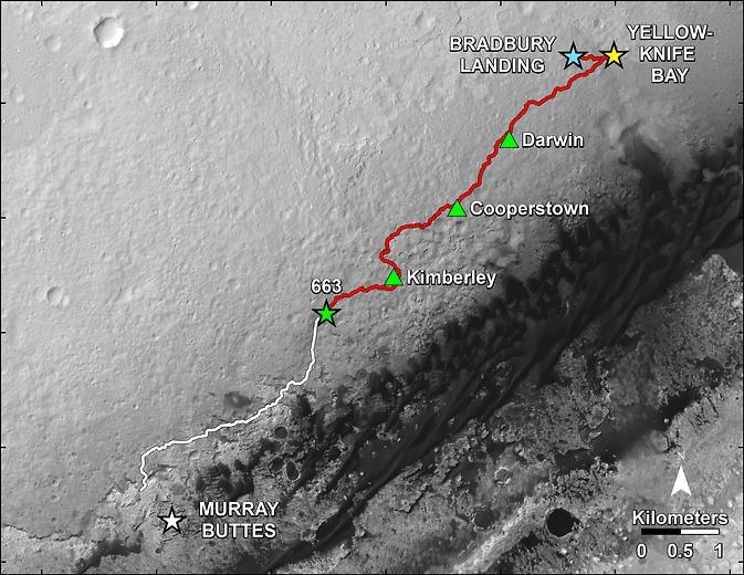 Марсианский юбилей Curiosity: целый год на Красной планете