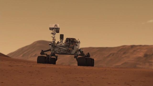 Марсоход Curiosity спел «Happy Birthday» сам себе