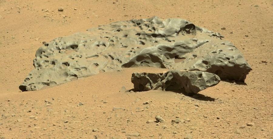 Марсоход Curiosity завершил основную научную миссию