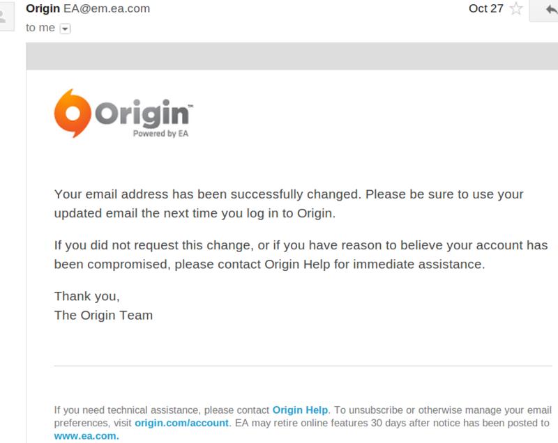 Массовые угоны аккаунтов от EA Origin