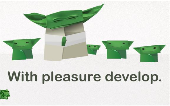 Мастер Йода и его бумажные падаваны: Креативно корпоративная история