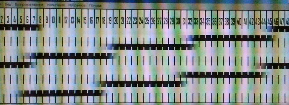 Метод самостоятельного определения времени отклика LCD экрана монитора или телевизора