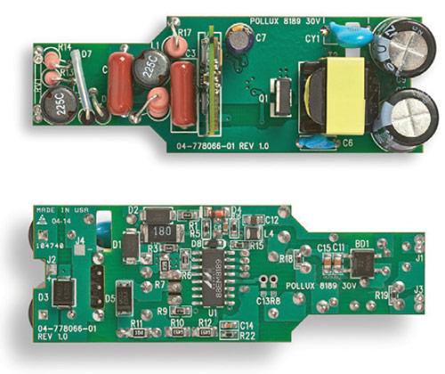 Микросхема драйвера светодиодов Marvell 88EM8189 оснащена интерфейсом I2C