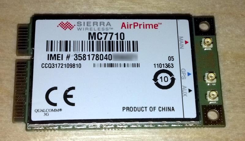 mini PCIe LTE для ноутбука