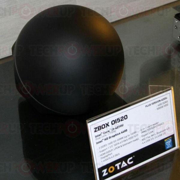 В конфигурацию мини-ПК Zotac Zbox O1520 входит двухъядерный процессор Intel Core i3-4010U