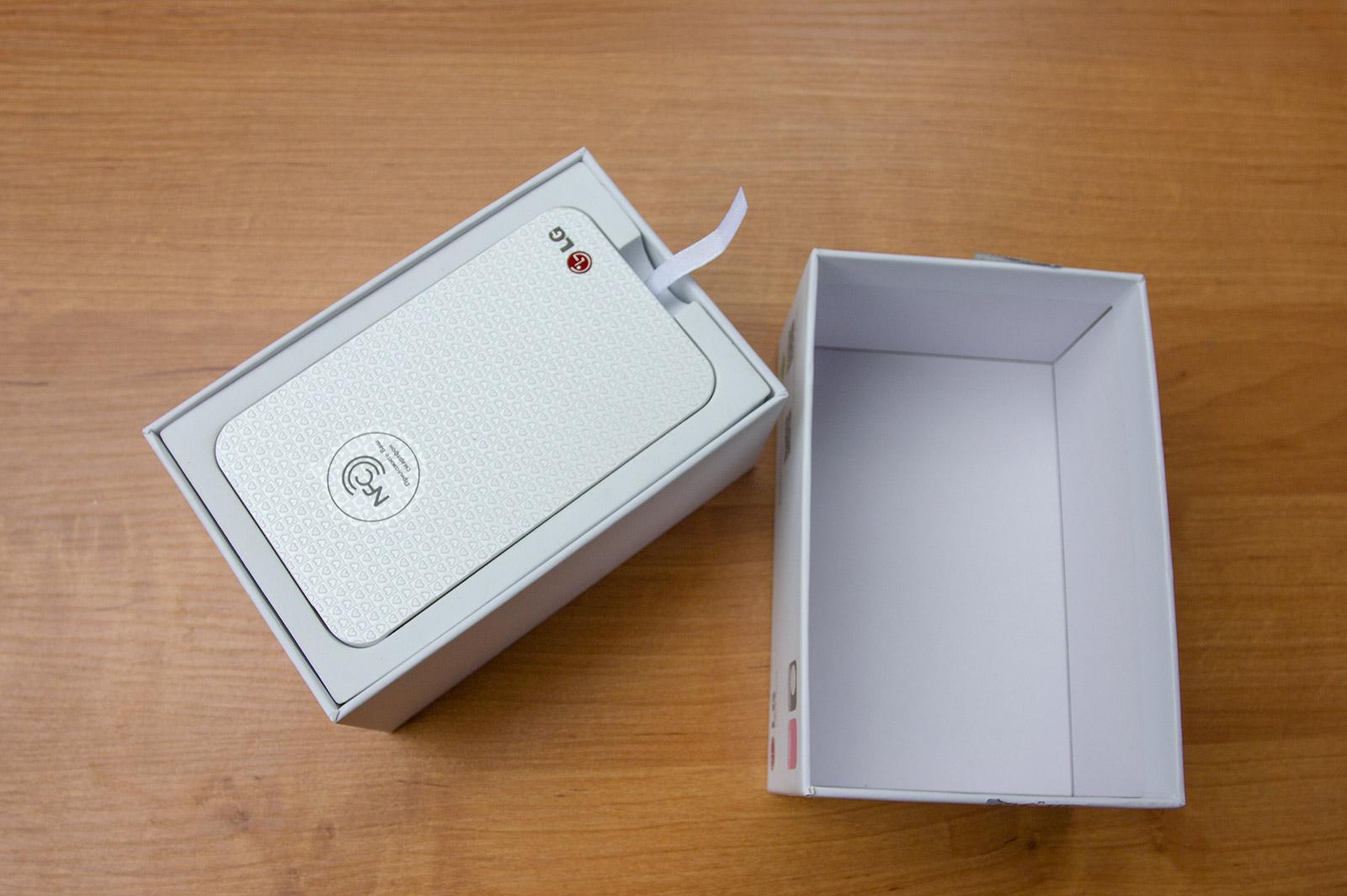 Мини принтер LG: карманная фотолаборатория