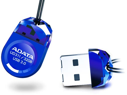 Накопитель DashDrive Durable UD311 выпускается объемом 16 и 32 ГБ